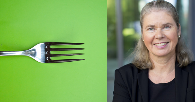 Anna T. Höglund and fork